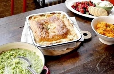 Jamie Oliver 30 Min meals - Chicken pie