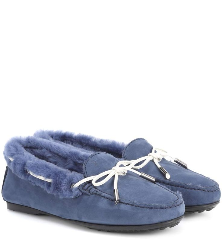 TOD'S | City Gommino suede loafers #Shoes #TOD'S