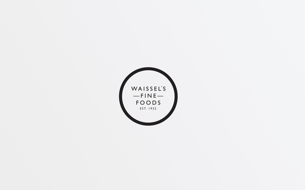Waissel's Fine Foods by Two Times Elliott , via Behance