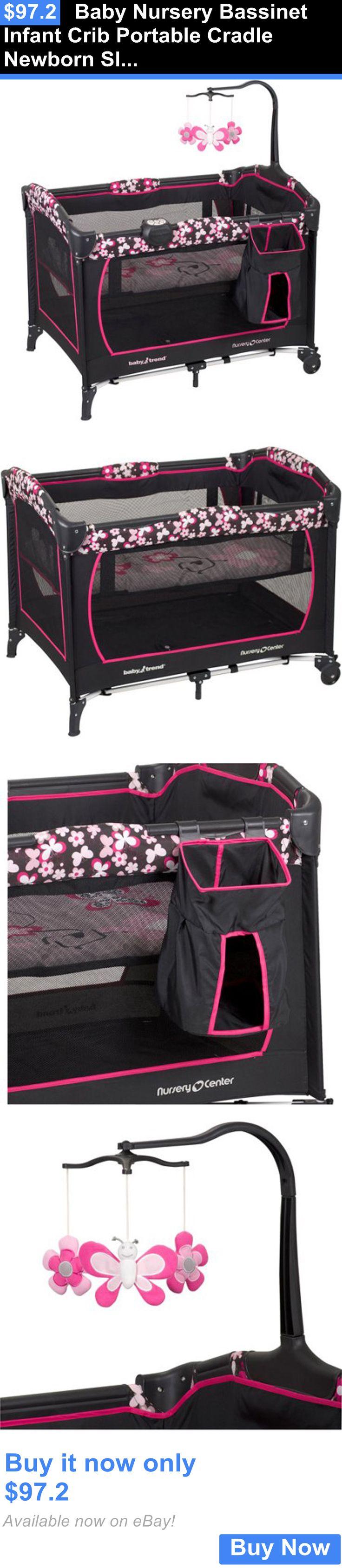 Baby cribs staten island - Baby Nursery Baby Nursery Bassinet Infant Crib Portable Cradle Newborn Sleeper Bed Furniture Buy It