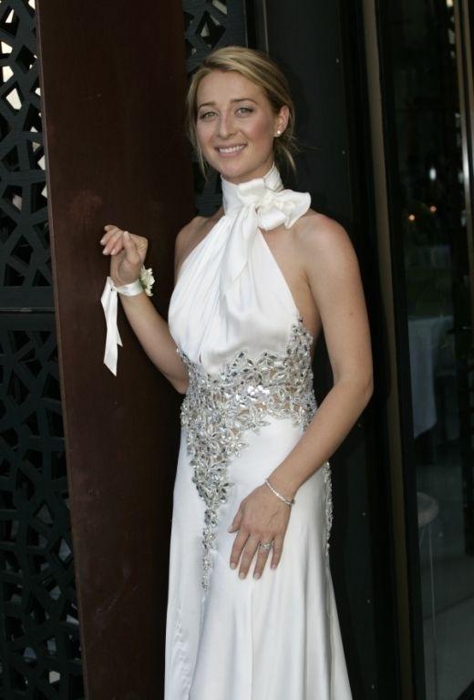 Asher Keddie Wedding Gown