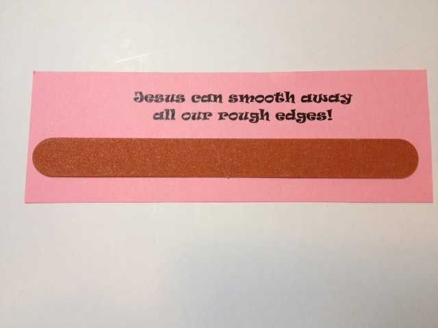 Great Gifts For Women Part - 41: The Emory Board Palanca Or Agape Idea Is Inexpensive, Simple And Quick.  These Make. Retreat GiftsWomenu0027s RetreatRetreat IdeasGreat ...