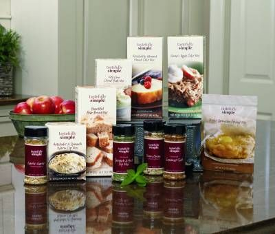 Tastefully Simple is a direct sales company which offers women and men a home-based business opportunity in the gourmet food industry.