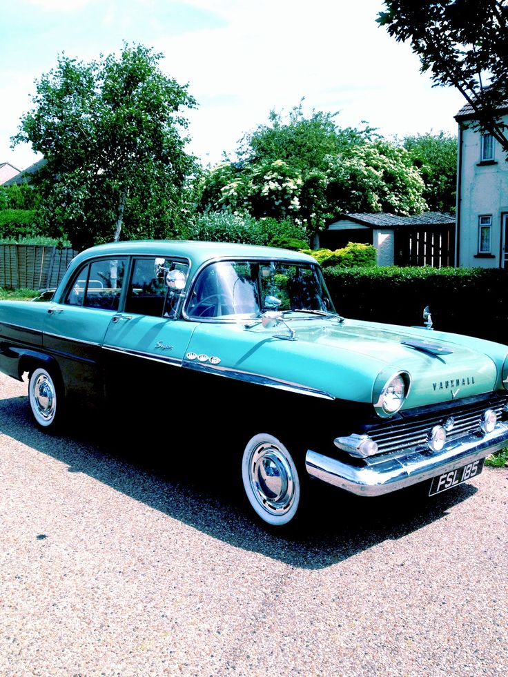 Classic car...Vauxhall Victor...seafront..Re-pin..Brought to you by #CarInsuranceEugene, and #HouseofInsurance