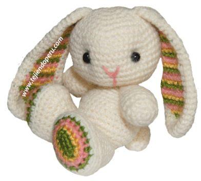 Crochet Amigurumi Bunny Tutorial : 17 Best images about amigurimi on Pinterest Free pattern ...