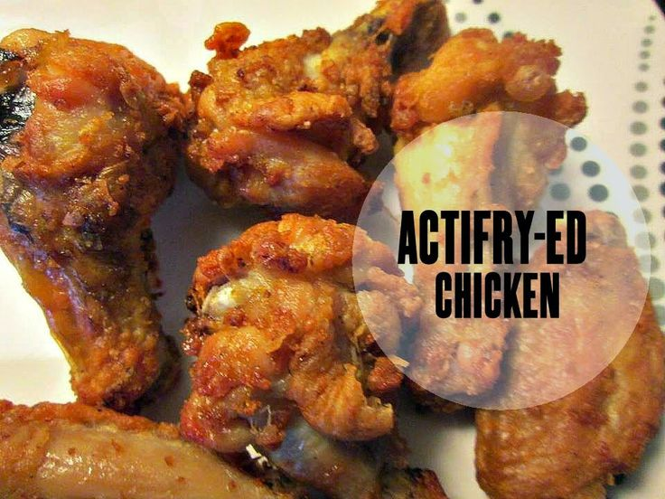 Recipe Rebels: ACTIFRY-ED WINGS – WINGS COOKED IN THE ACTI-FRY