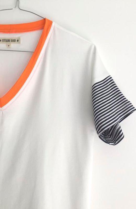 camiseta de algodón de peperoni band  http://stylelovely.com/peperoni-band/2017/06/07/todo-al-blanco-con-peperoni-band/