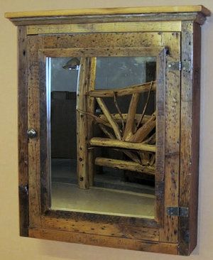 Reclaimed Wood Medicine Cabinet Home Decor