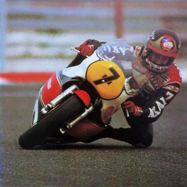 Barry Sheene grinning from ear to ear top's......
