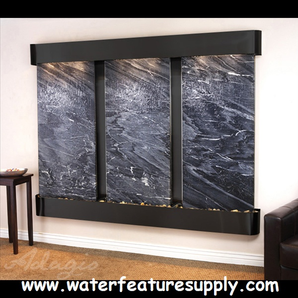 How To Integrate Interior Wall Fountains In Your Home: 59 Best The Deep Creek Falls Wall Mounted Water Feature