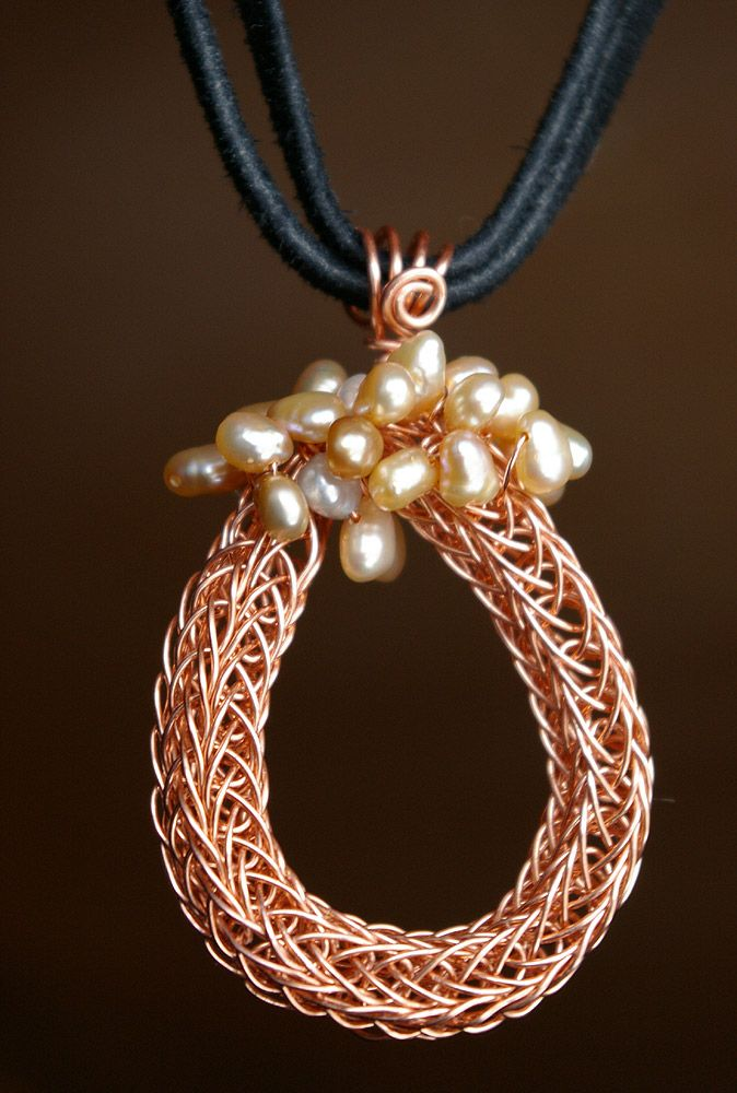 French Knitting Jewellery Tutorials : Best wire jewelry images on pinterest jewerly