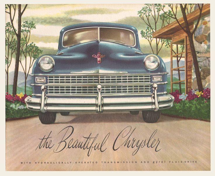 1947 - 1948 Chrysler Sales Brochure Brochures - sales brochure