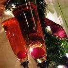 Poinsettias - Champagne is serve with a splash of cranberry juice for this festive holiday cocktail, sure to make any celebration special.