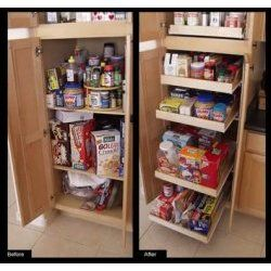 43 best cabinet organizers images on pinterest cabinet organizers do it yourself rolling single shelf kit one shelf by brambuilt cabinets kitchen solutioingenieria Image collections