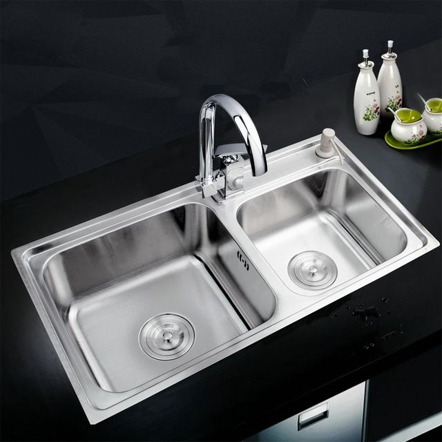 8 best kitchen vessel sink images on pinterest basin sink 32438 kitchen stainless steel sink vessel kitchen double bowl ss 997147114 workwithnaturefo