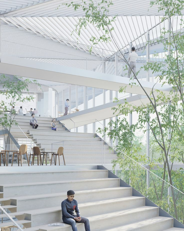 sou fujimoto to build new learning center at paris' ecole polytechnique