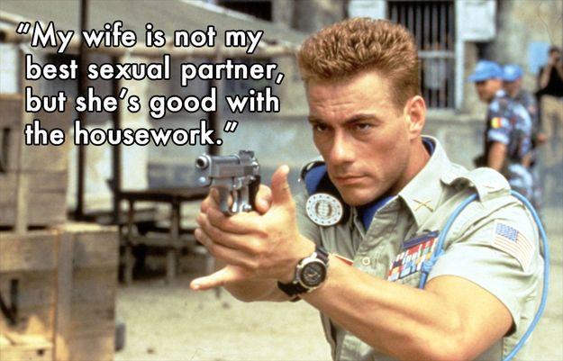 10 Best Things Jean-Claude Van Damme Has Ever Said