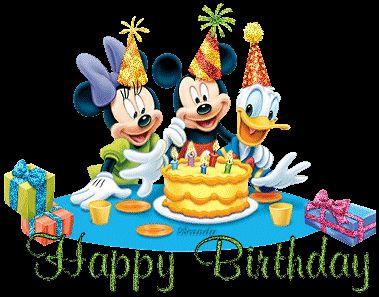 Minnie, Mickey y Donald te desean un Happy Birthday - ツ Imagenes y Tarjetas para Felicitar en Cumpleaños ツ