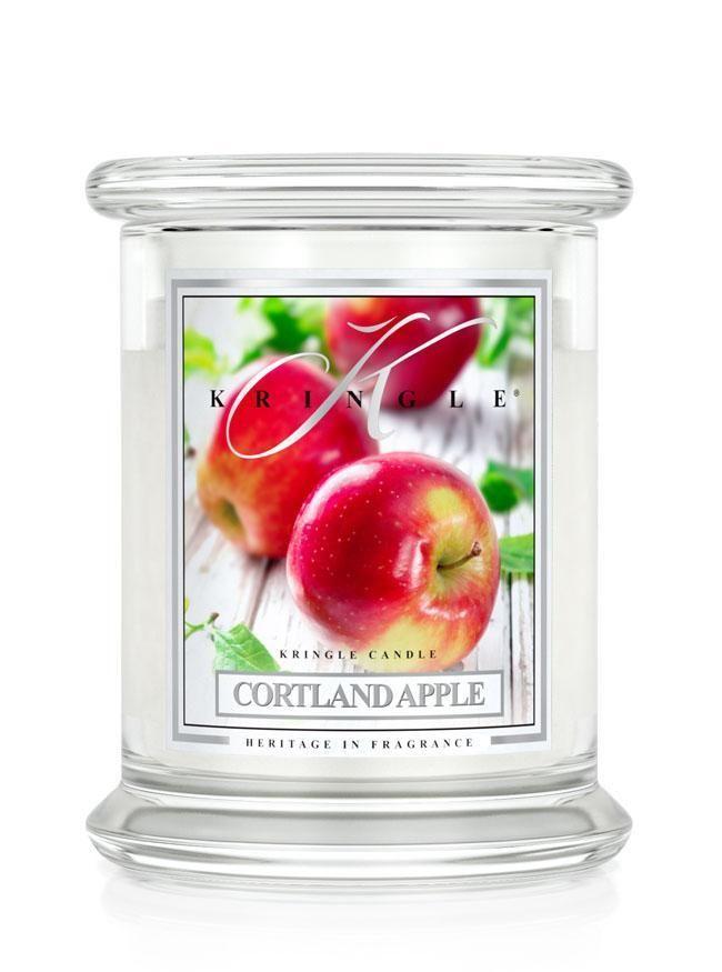 Kringle Candle Cortland Apple, Medium 2-Wick Classic Jar