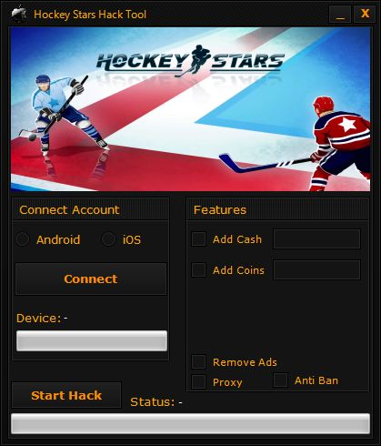 Hockey Stars Hack Tool