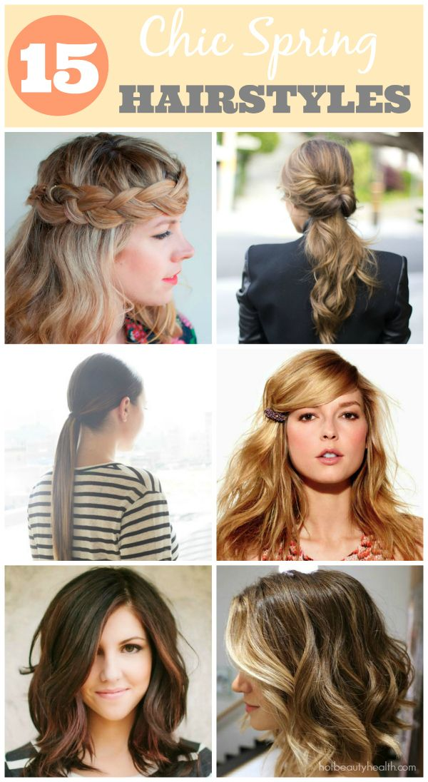 Prime 1000 Ideas About Spring Hairstyles On Pinterest Hairstyles Short Hairstyles Gunalazisus