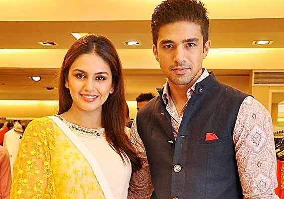 Huma Qureshi, Saqib Saleem add star quotient to Varun Bahl's couture line (see pics)