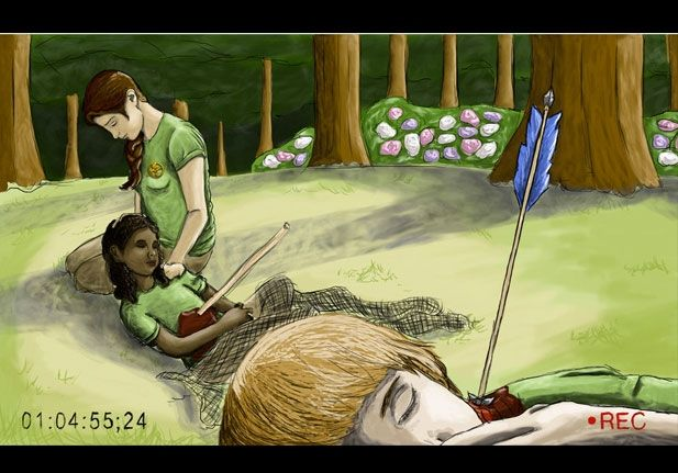 Amazing Hunger Games Fan Art - Mindhut - SparkNotes
