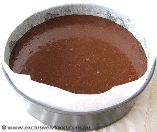 This is the best mud cake recipe ever! Recipes for different size tins