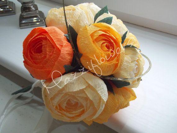 Wedding bouquet,bridal bouquet,paper flower bouquet,bridesmaid bouquet,paper flowers,bridal  flower,bouquet,