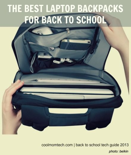 If your kid is heading to school with a laptop or tablet, one of these backpacks should be just right.