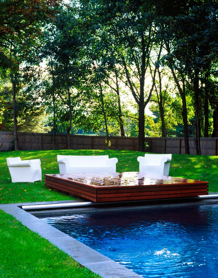 novogratzOutdoor Seats, Pools Decks, Diving Boards, Country House, Gardens Furniture, Country Home, Cool Pools, Dreams Pools, White Furniture