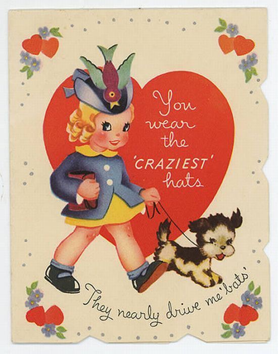 96 best Vintage Valentine images – Crazy Valentine Cards