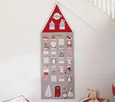 Gray House Advent Calendar #pbkids