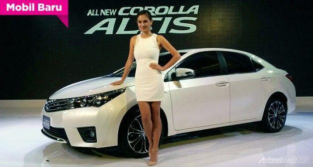 Baru saja memulai tahun 2014, PT Toyota Astra Motor (TAM) sudah meluncurkan mobil-mobil baru untuk menghadapi tahun yang baru berjalan 8 hari ini. Inilah dia Toyota Corolla Altis 2014 yang memiliki basis desain eksterior versi Asia yang sama dengan versi Jepang