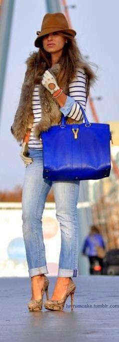 FALL FASHION 2014! Need this YSL bag!