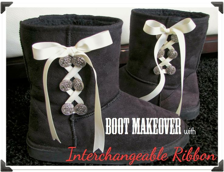 HomeMadeville: DIY Lace-Up Boots