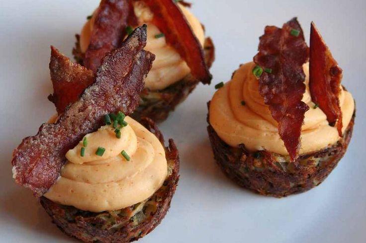 Potato, Egg and Bacon Cupcakes by Stephen Jackson