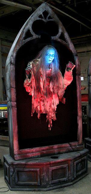 Floating ghost #Halloween prop | Haunted Swamp Ideas ...