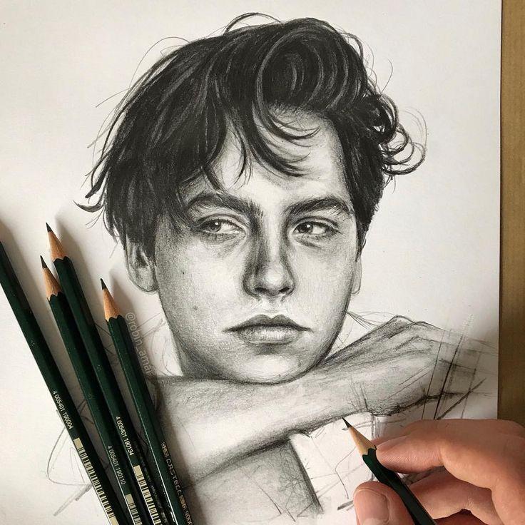 Weitere fantastische #portraits des französischen Künstlers Robin Amar (?robin_amar) #Pencil #pencilart #artist #drawing