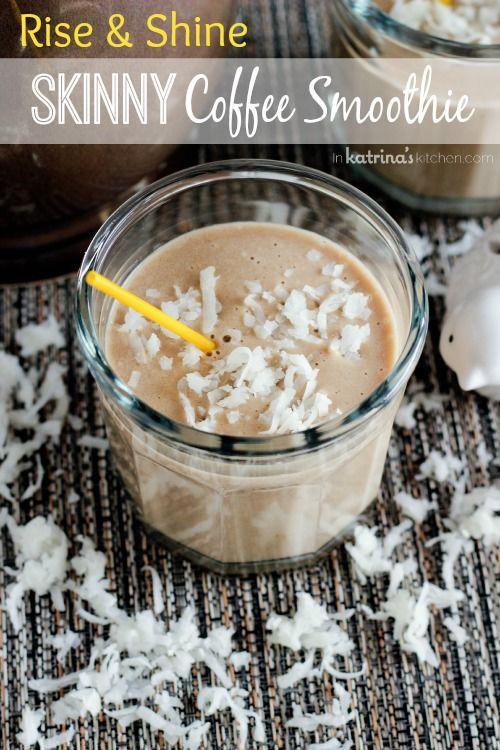 Skinny Coffee Smoothie Recipe (vegan, dairy-free, gluten-free)
