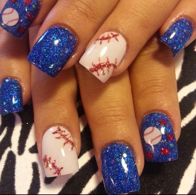 Sarah Lou Nails: Red Sox Nails!