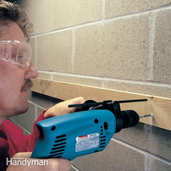 Solve your concrete fastening problems with our favorite concrete anchors. We show you how to install light-duty, medium-duty and heavy-duty fasteners. Out of this group, you can pick the one that best solves your fastening problem.
