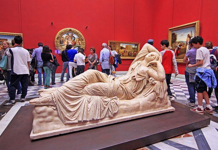 Galleria degli Uffizi, Florencie, Itálie