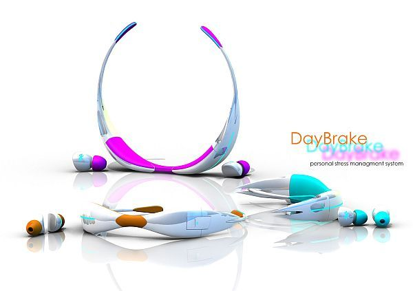 DayBrake Personal Stress Manager turns stress management into a science