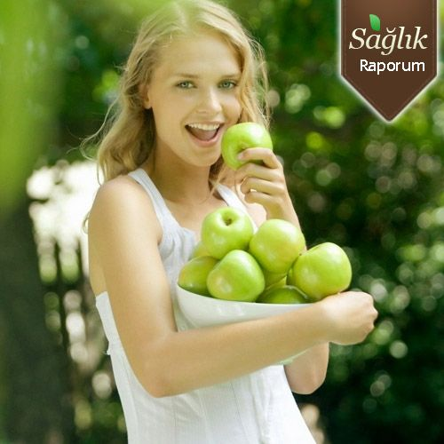 Elma diyeti ile 6 günde 5 kilo verin!