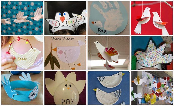 LLUVIA DE IDEAS: Recursos: Ideas y actividades de Expresión Plástica para el Día de la Paz