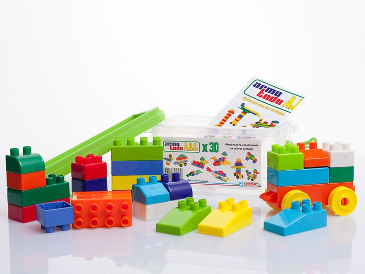 Para #ratosdivertidos de figuras singulares, te recomendamos el #juguete de la semana: BLOQUES ARMOTODO X 30 PIEZAS !