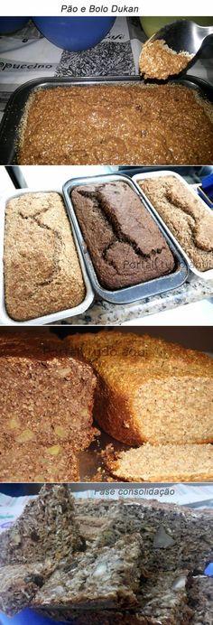 Aprenda a fazer a melhor receita de bolo Dukan para as fase de ataque, cruzeiro ou consolidação!