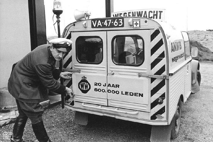 ANWB wegenwacht Citroën Bestel eend