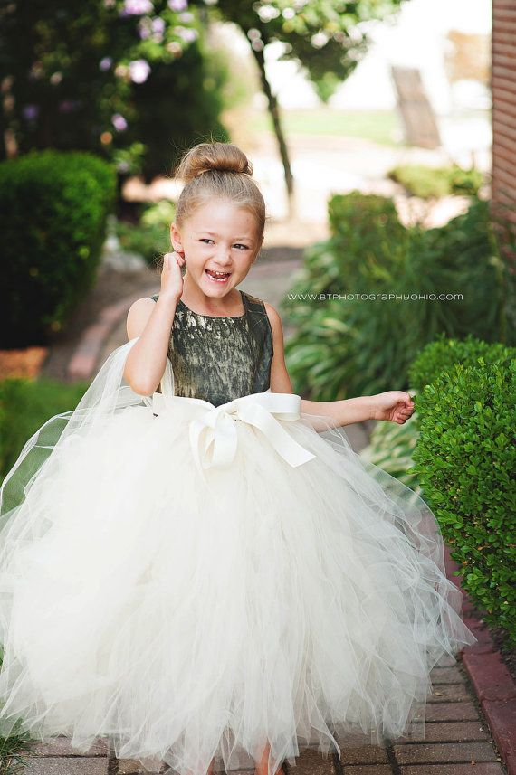 Girls Mossy Oak or RealTree Camo Tutu Dress by MarleyOcean on Etsy, $100.00